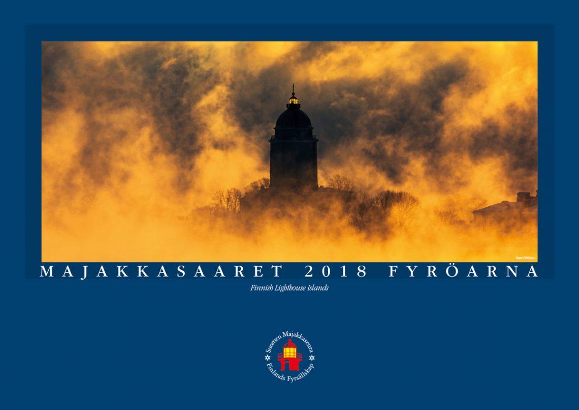 Majakkasaaret 2018 -kalenteri: vielä ehdit hankkia oman juhlapainoksen!