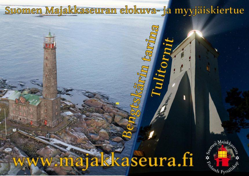 Kevätkiertue alkaa 22.3.: Luvassa majakkaelokuvia, Gustu-kirjan ruotsinkielinen painos ja yleisöretki Gustavsvärniin