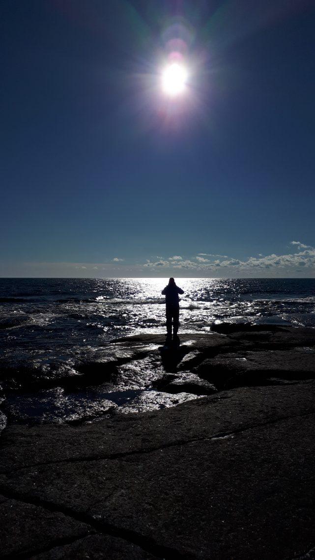 Minnan kuva Terosta auringonpaisteessa