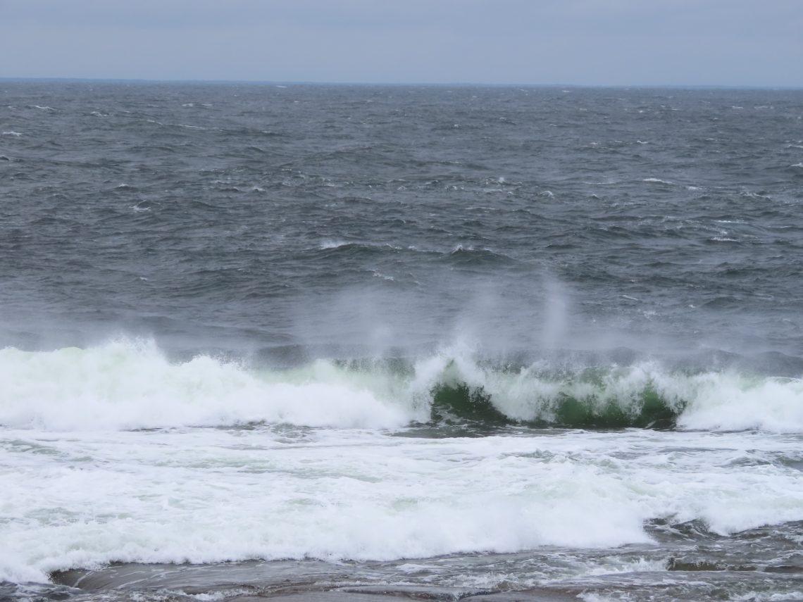 Aallokkoa meressä
