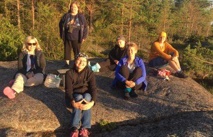 Talkooviikko 30: Anne, Hanna, Helena, Mape, Reija, Tarja
