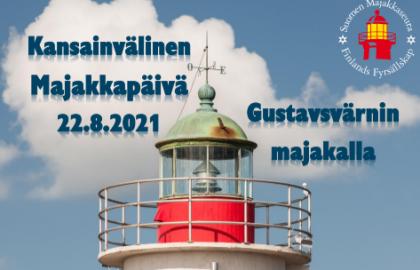 Kansainvälinen majakkapäivä Gustavsvärnillä 22.8.2021