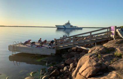 Joogaviikonloppu Gustavsvärnillä 07.-09.08.2020
