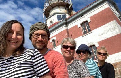 Talkoviikko 25: Maisu, Tiina, Iida, Sylvia & Tomi