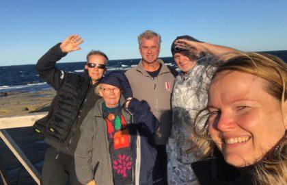Talkooviikko 38: Pete, V-P, Janne, Leena ja Anni