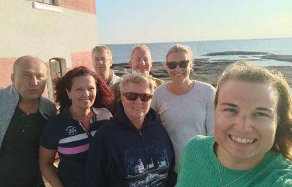 Talkooviikko 30: Maija, Anne, Timo, Paula, Marcus, Alle & Knutte