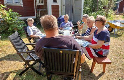 Talkooviikko 29: Ari, Gabriele, Johanna, Kirsti, Liisa, Maija, Pirjoliisa