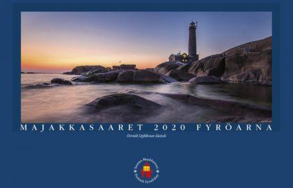 Majakkasaaret 2020 -kalenteri (sisältää kuusi postikorttia)