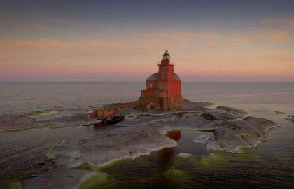Kirkkonummen Kallbådan majakka 100 vuotta