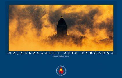 Majakkasaaret 2018 -kalenteri sisältää upeita kuvia Suomalaisista majakoista