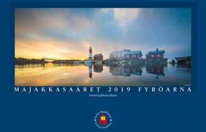 Majakkasaaret 2019 -kalenteri (sisältää kuusi postikorttia)