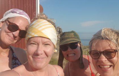 26.6.-28.6.2020: Mirka, Nina, Pia & Ellu