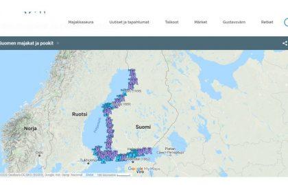 Majakkaseuran majakkatietokannasta löytyy perustietoja Suomen majakoista